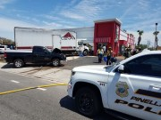 Truck Crashes into Pinellas Park Kentucky Fried Chicken