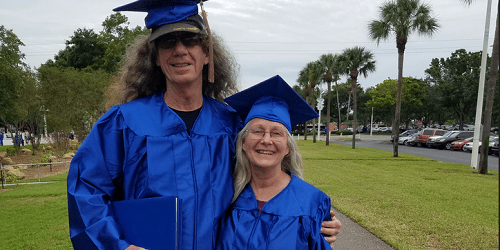 Mary and Richard Cackling | St. Petersburg College | Education