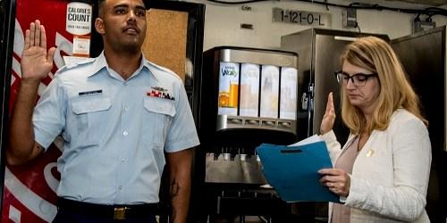 Seaman Kenwyn Berkeley | US Coast Guard | Citizenship