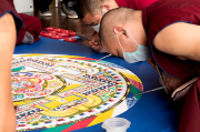 Buddhist Sand Mandala Brings Message to St. Petersburg