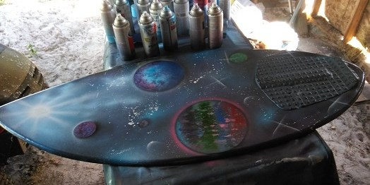 Caleb Kirby Art | Spray Painting | Events