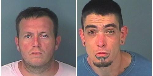 Jerimiah James Bradley   Christophere Calvin Lively   Arrests