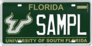 USF License Plate Gets Redesign