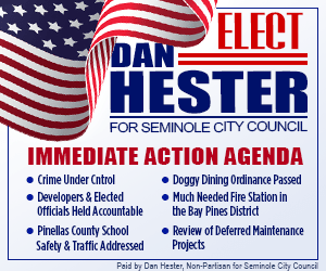 Dan Hester For Seminole City Council