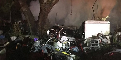 Mobile Home Fire | Hillsborough Fire Rescue | Fire