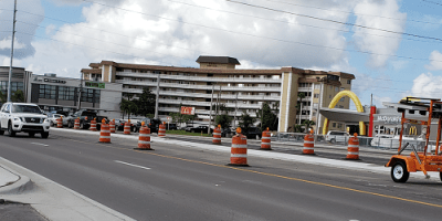 Starkey Road | Road Construction | Traffic