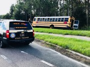 Pasco School Bus Driver Cited After Crash