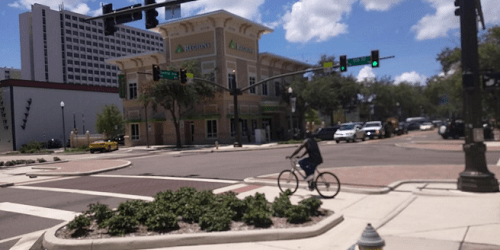 St Pete Intersection | Traffic | Complete Streets