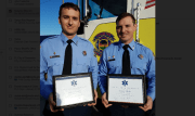 HCA Hospitals Honor Two Pinellas Park Firefighters