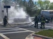 Tanker Fire Briefly Closes I-75