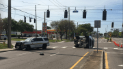 Deputy Injured in 49th Street Crash
