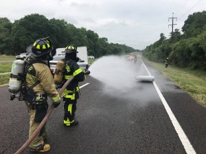 Hillsborough Fire | State Roaad 60 Crash | Propane Leak