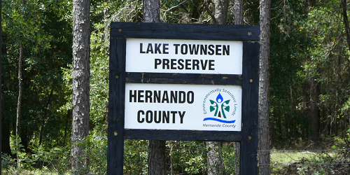 Lake Townsen Park   Hernando County   Brooksville