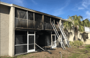 Apartments Damaged in St. Petersburg Fire