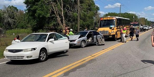 School Bus Crash | Florida Highway Patrol | U.S. 92 crash