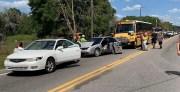 School Bus Driver Cited After U.S. 92 Crash