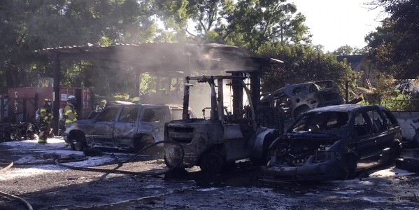 Car Fires | Tampa Fire | Publlic Safety