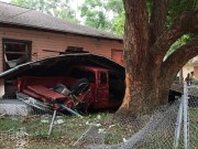 Truck Crashes into Clearwater Home, Injuring 4