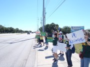 Protestors Seek Preservation of Green Space in Pinellas