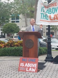 Rick Kriseman | Release the Report | Rally