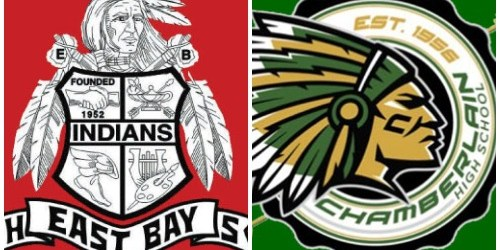 East Bay High   Chamberlain High   Mascots