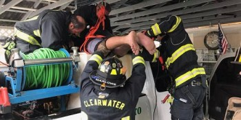 CLW Tank Rescue | Clearwater Fire | TB Reporter