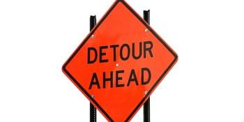 Detour | Road Construction | Traffic