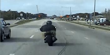Pinellas Park Police | MOtorcyclist | TB Reporter