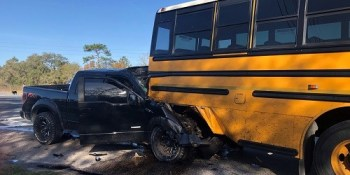 hernando school bus crash | florida highway patrol | commercial way crash