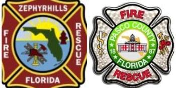 Zephyrhills Fire Rescue Logo | Pasco Fire Rescue Logo | TB Reporter
