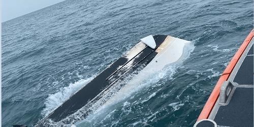 capsized boat | COast Guard | Pasco Sheriff