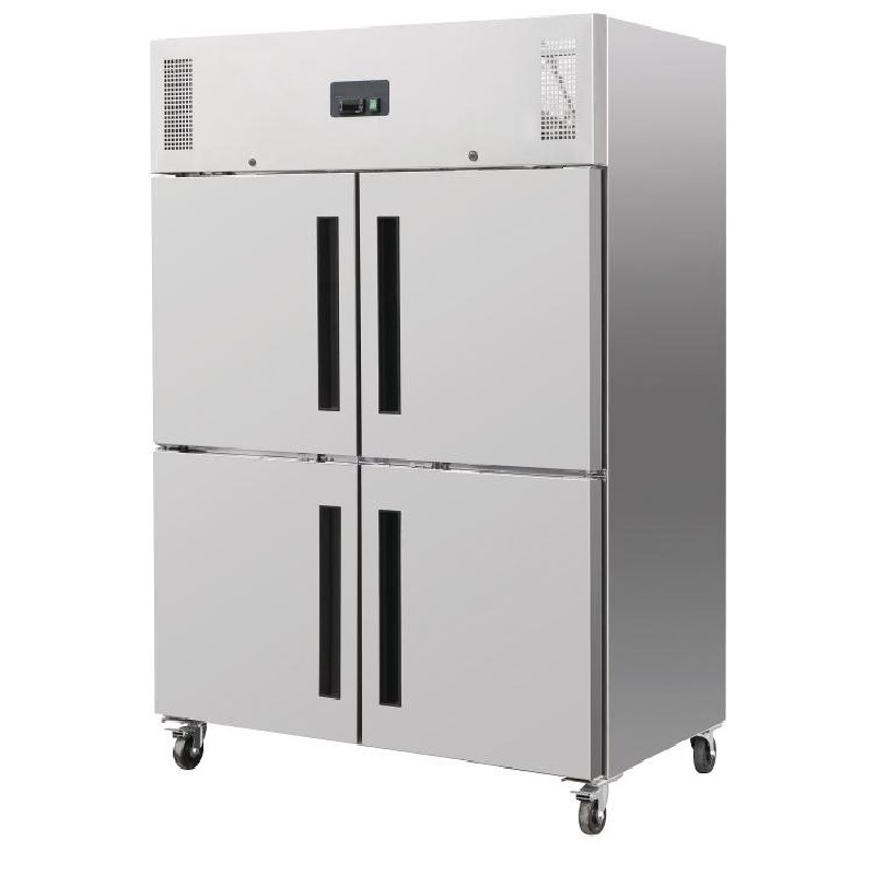 armoire refrigeree positive 4 portillons 1200 litres loading zoom