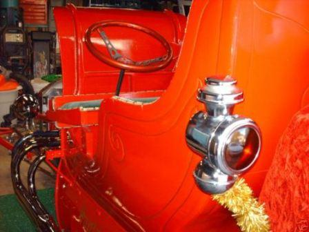 Santa's T-Bucket Hot Rod Sleigh