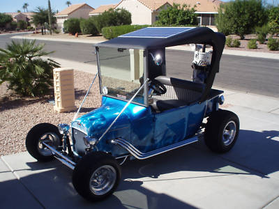 This t bucket electric golf cart is the real deal for Golf cart plans