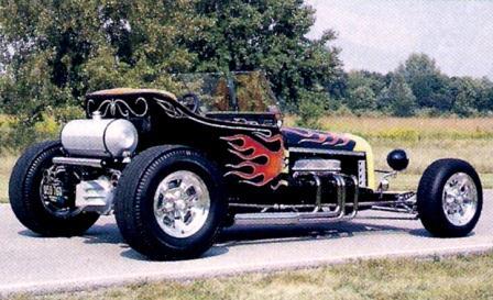 Nick Conti T-Bucket roadster