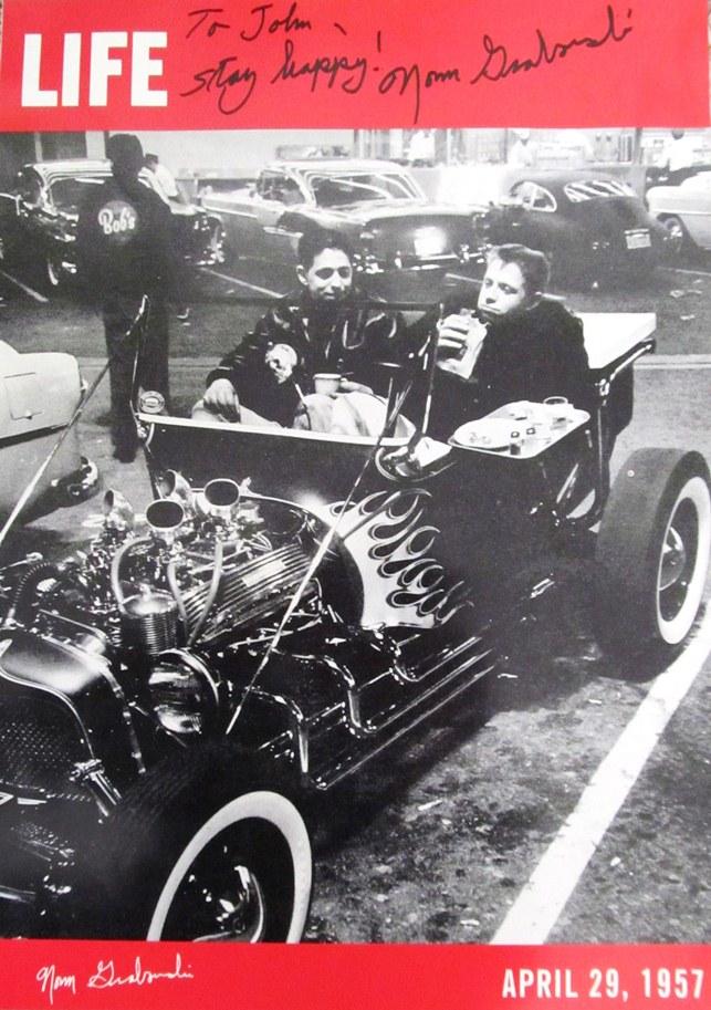 Norm Grabowski Kookie Car T-Bucket Life Magazine April 29 1957
