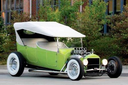 Russ Freund's Green Mantis T Touring