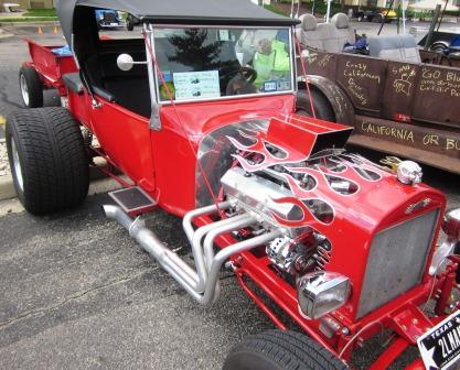 T-Buc ket Nationals Tim Taylor 1923 T-Bucket hot rod roadster