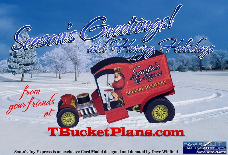 Hot Rod Holiday Gift For You From