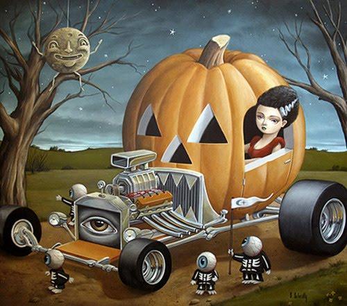 Halloween Hot Rod, The Bumpkin Pumpkin T-Bucket