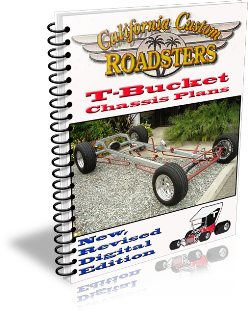 California Custom Roadsters CCR T-Bucket Plans