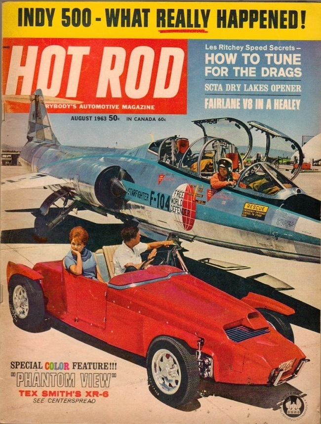 Hot Rod August 1963