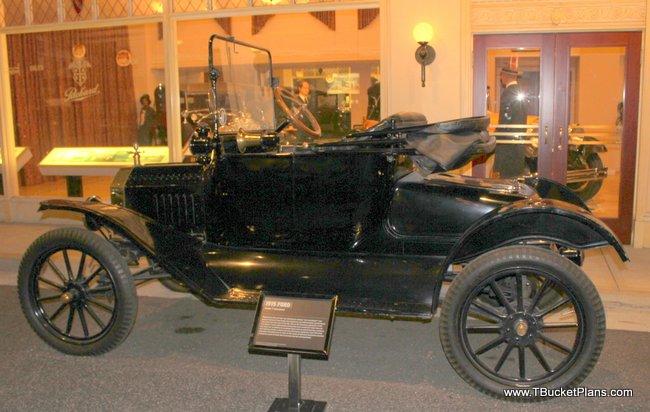 1915 T Bucket Body