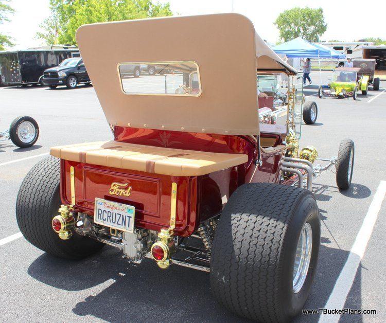 CCR T-Bucket Greg Vaughan California Custom Roadsters