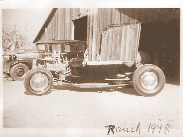 Blackie Gejeian T roadster 1948