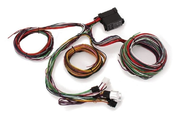 t bucket wiring in the dave melling project part 13 tbucketplans com rh tbucketplans com Dodge Wiring Harness Ford Wiring Harness Kits
