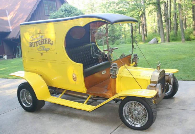 Dan Woods Butcher Truck C-Cab Bob Reed