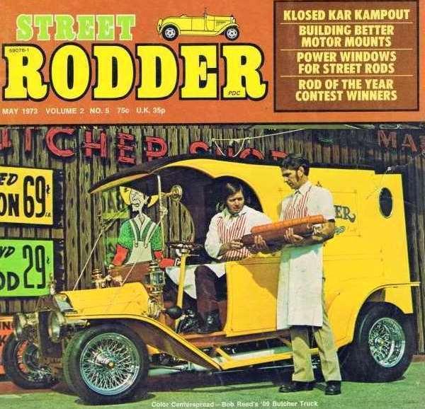 Dan Woods Butcher Truck C Cab Street Rodder Bob Reed