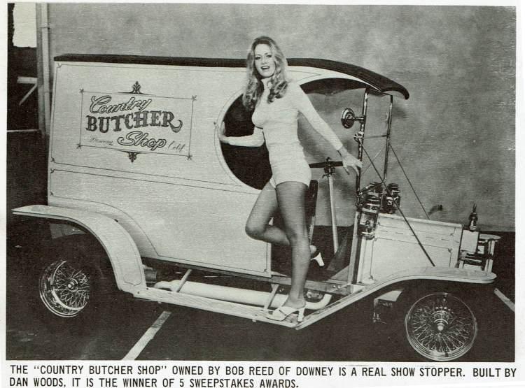 Dan Woods Country Butcher Shop C-Cab Truck