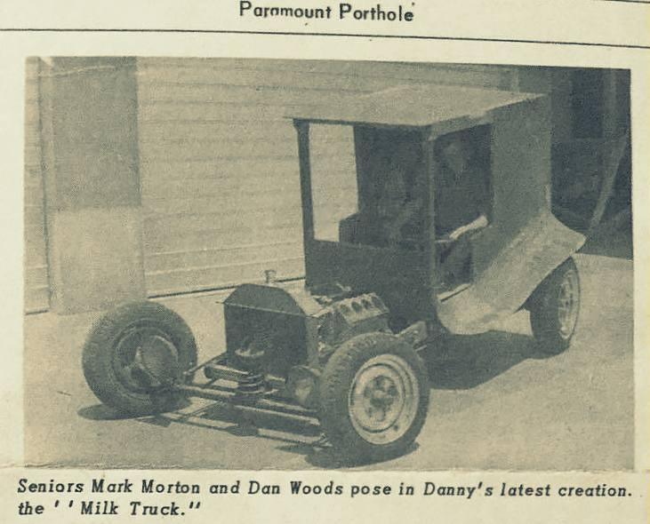 Dan Woods Milk Truck C-Cab